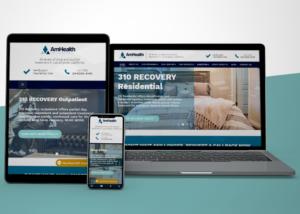 AM Health - Dimaco web website building and online presence Natalia Golenkova